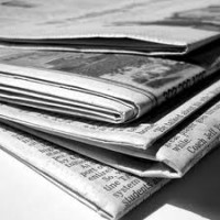 Online ads overtake newspapers in the US - is it time for newspapers to stop publishing every day?
