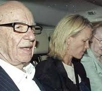 Crisis, what crisis? Murdoch is defiant as daughter Elizabeth and PR man husband Matthew Freud orchestrate fightback