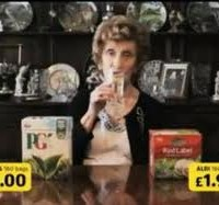 At last an ad from Aldi that shows us as we really are (some of us prefer gin to tea)