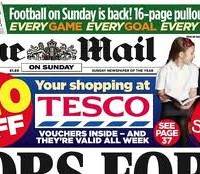 UK's Mail on Sunday fails to cash in on News of the World demise