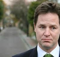 Great communicator Nick Clegg can't seem to make his mind up about Cameron and his Europe veto.
