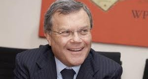 "Sir Martin Sorrell says Team WPP staff are ""excited about working horizontally"""