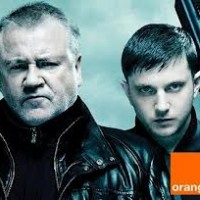 Ray Winstone wields his knuckle duster for Orange