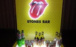 Suntory opens up its 'Stones Bar' to celebrate ageing rockers' 50th anniversary