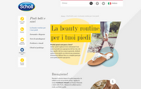 Scholl picks LBi for major website revamp