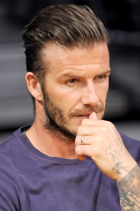 David Beckham Hairstyles Maa