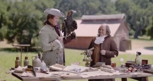 Clorox cleaner and DDB West find a new use for Founding Father Franklin