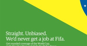 Guardian tilts at FIFA in BBH World Cup campaign