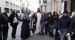 Jesus comes to London – courtesy of Mother