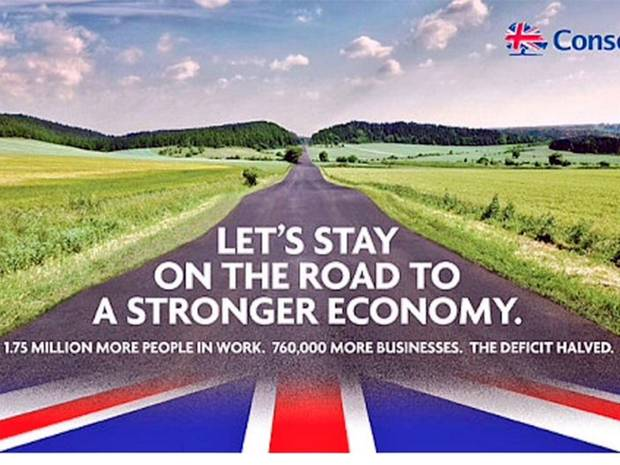 Conservative election poster 2015