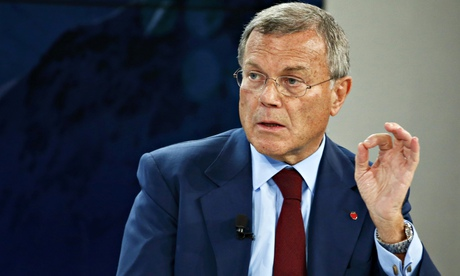 Sir Martin Sorrell, chief executive of WPP?' in Davos
