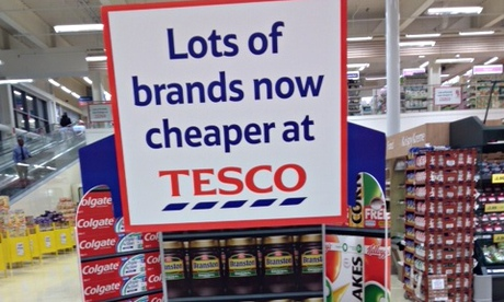 Tesco Marketing Activities