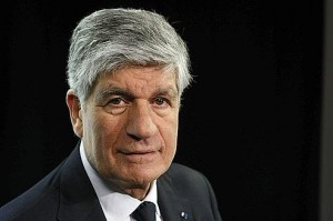 MAURICE LEVY, INVITE DU BUZZ MEDIA ORANGE-LE FIGARO.
