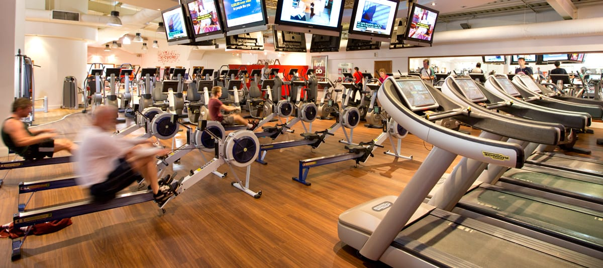 Virgin Active Health Club Lichfield Cardio Equipment