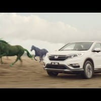 Honda goes for crazy horses in new CR-V campaign