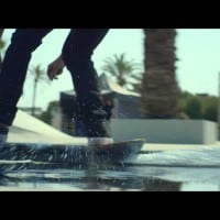 Walking on the water pays off for Lexus and DC Shoes