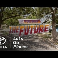 Toyota and Droga5 land grab Back to the Future