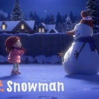 Cineplex unveils an everlasting snowman for Xmas
