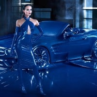Mercedes' new fashion campaign flounders in latex