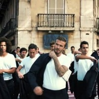 H&M's David Beckham by adam&eve: bold and confident but a touch perplexing