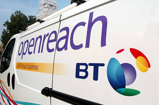 OPENREACH CHIEF EXECUTIVE STEVE ROBERTSON, LAUNCHES THE NEW LOGO, AT THE BT HQ IN ST PAULS LONDON. PICTURE MURRAY SANDERS