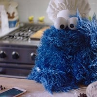 Cookie Monster enters the lists for Apple as 'adorable' puppets take over the airwaves