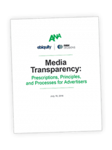 US advertiser body ANA releases Firm Decisions' media guidelines: it's in the contract, stupid