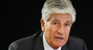 Maurice Levy, French advertising group Publicis Chief executive, attends a Reuters Global Media and Technology Summit in Paris in this June 12, 2012 file photo.   Advertising groups Publicis Groupe SA and Omnicom Group Inc are in late-stage merger talks, according to reports.  REUTERS/Mal Langsdon/Files    (FRANCE - Tags: HEADSHOT SCIENCE TECHNOLOGY MEDIA)