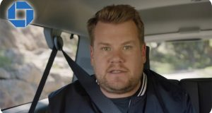 It's that man Corden again – this time for new Chase Sapphire card and Droga5