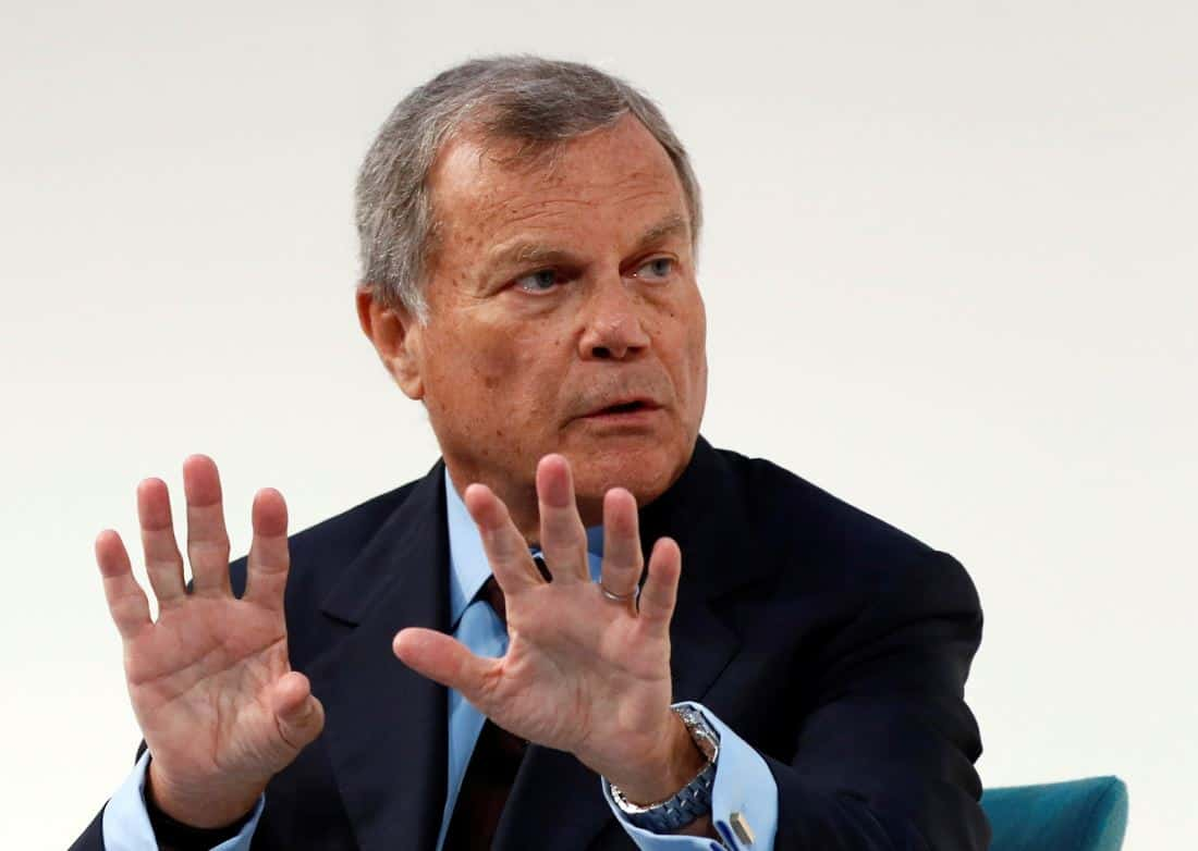 WPP shares fall 15pc after disappointing year